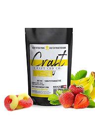 CraftCBDGummies_Strawberry banana Gummie
