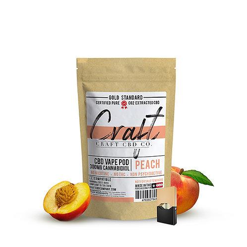 CBD Vape Pods - Peach Cannabidiol