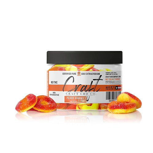 Peach Gummies - High Potency