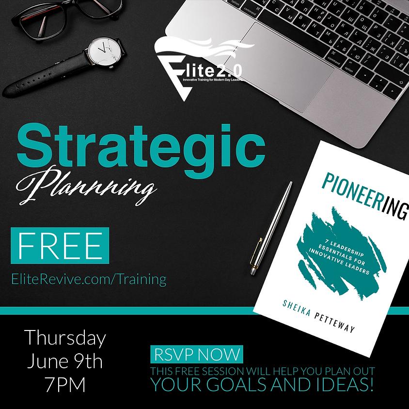 Strategic Planning Session   Free