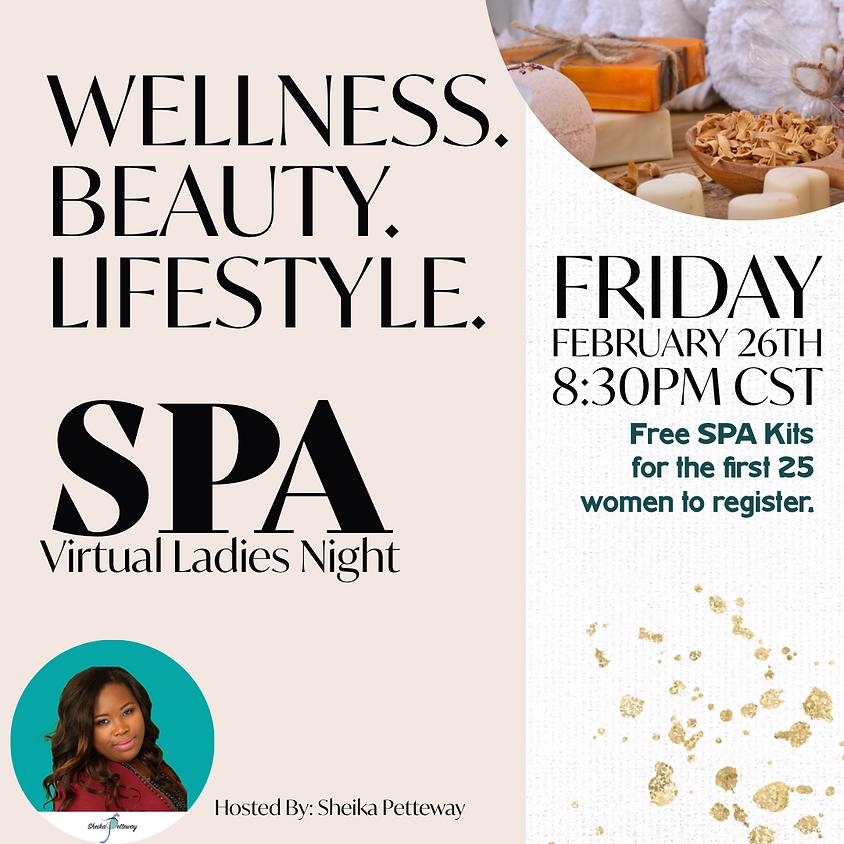 Virtual SPA Ladies Night