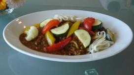 【SO@R de おうちごはん】レシピ⑫ビタミンたっぷり!夏野菜カレーうどん