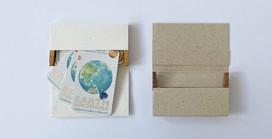 【Press Release】1,000万羽の折り鶴に込められた平和の想いを形に・・・EARTH Hiroshima「折り鶴再生紙カードケース」発売