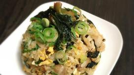 【SO@R de おうちごはん】レシピ⑩シャキシャキ食感の広島菜キムチ炒飯