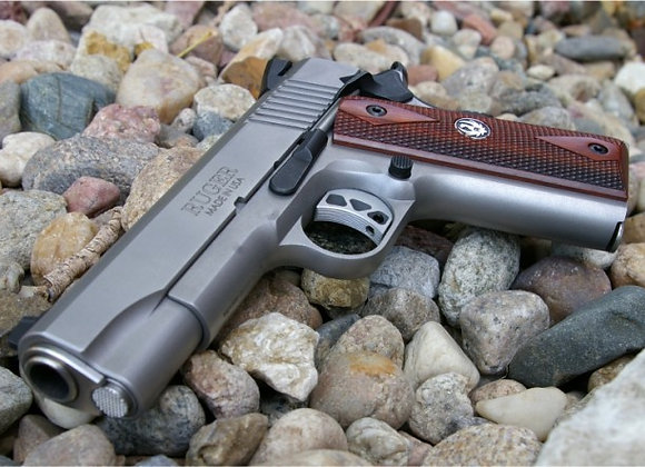 Ruger Government Model SR1911 45 ACP w/ (2) 8/7 Round Mags