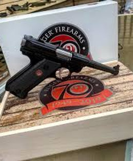 Ruger 70th Anniversary Model Mark IV .22 LR