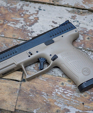 CZ P-10 C 9mm FDE (Flat Dark Earth) Two-Tone