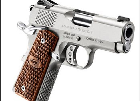 Pre Owned Kimber Stainless Ultra Raptor II .45 ACP