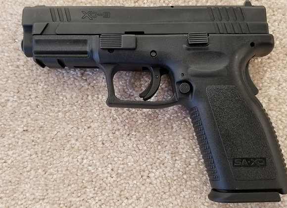 Pre-Owned Springfield Armory XD-9 9mm w/ (5) 15 Round Mags
