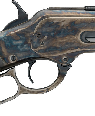 "Winchester 1873 Short Rifle Beautifully Case Hardened 20"" Barrel In 44-40"