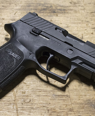Owned P320 NITRON CARRY w/ SIGLITE Night Sights