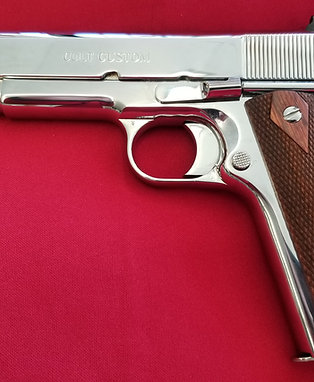 Colt Government Model 45 ACP Bright Stainless 1911