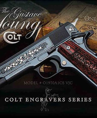 Colt Govt Model S70 Gustave Young Engraved Talo Addition 1 of 500