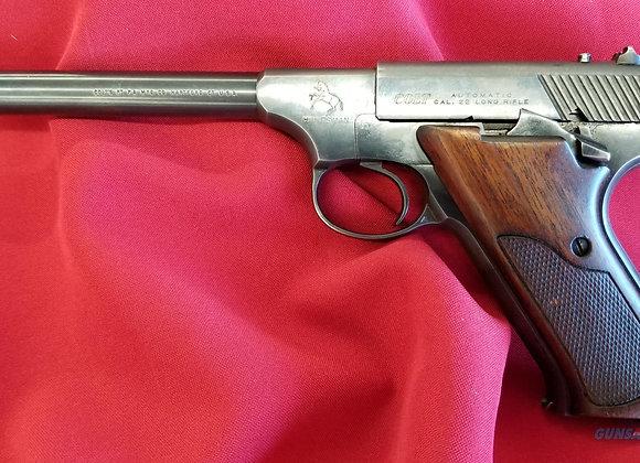 """Used Colt Huntsman 22 LR 6"""" Barrel Mfg 1966"""