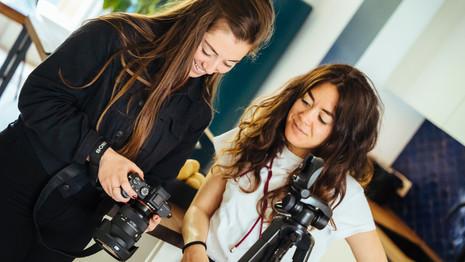 Samenwerken met een fotograaf