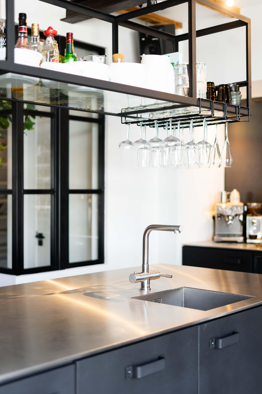 Keuken met staal   Charlotte Kap Fotografie   Uniek Staal   Interieurfotografie