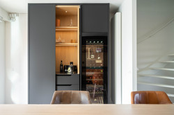 Zwarte keuken | Meubelmaker 't Kroonhuys | Charlotte Kap Fotografie | Interieurfotografie