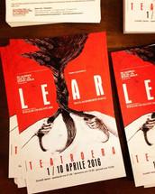 Immagine di locandina per LEAR regia di Roberto Bacci, Produzione Teatro della Toscana 2016