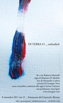 Di terra #1 _ embodied, regia di Massimo Di Michele