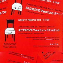 Logo di Altrove Teatro Studio, Roma