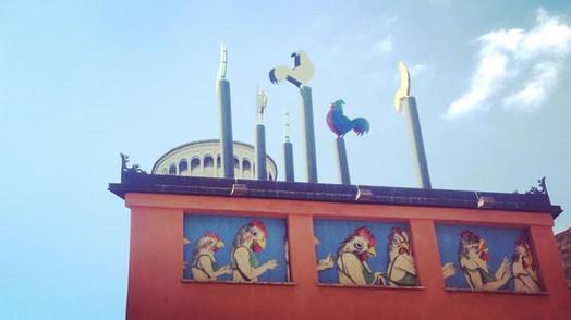 Catena _Lei (installation view in Lajatico, Pisa)
