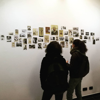 Installation view at Burning Giraffe, Turin, 2018