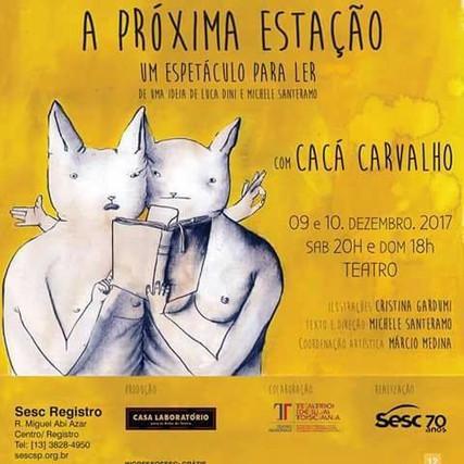 La prossima stagione (spettacolo da leggere), versione Sao Paulo