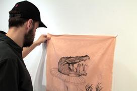 Manuale pratico di nascondimento per la fanciulla contemporanea (installation view)