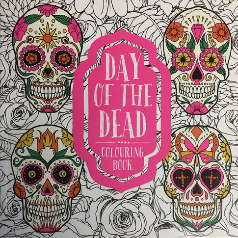 Day Of The Dead - Colouring Book