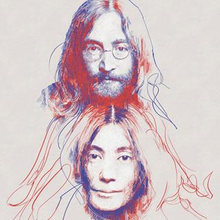 Yoko and John... after Lennon