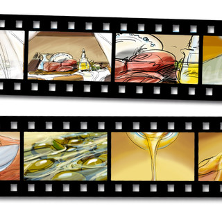 Storyboard for Studio Kapsel FSP