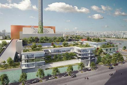 Requalification paysagère et architecturale du centre SYCTOM (93)