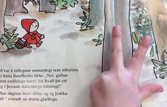 Að velja bók með fimm fingra aðferðinni