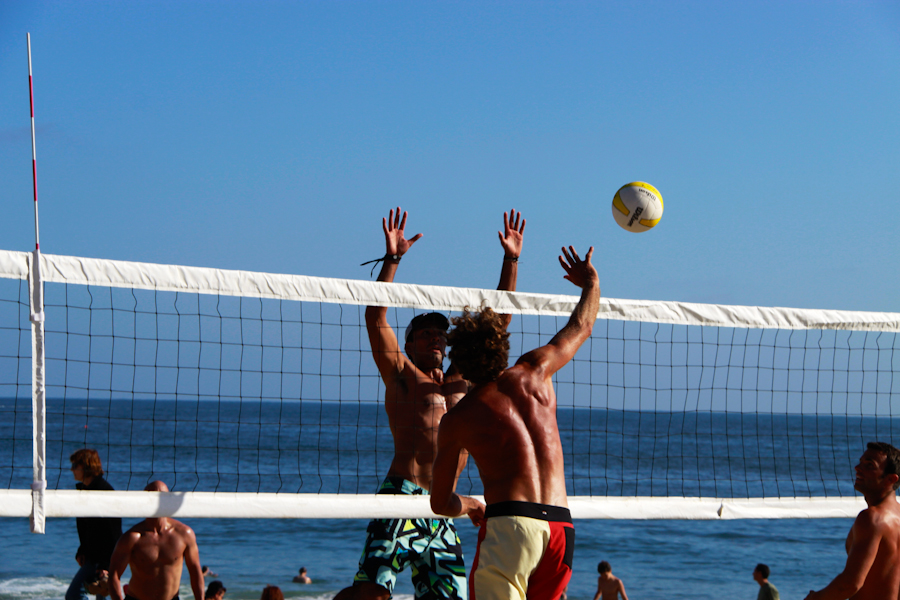 Beach Volleyball, Sports Massage