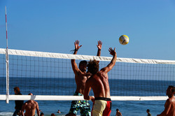 Beach Volleyball, Sports Massage