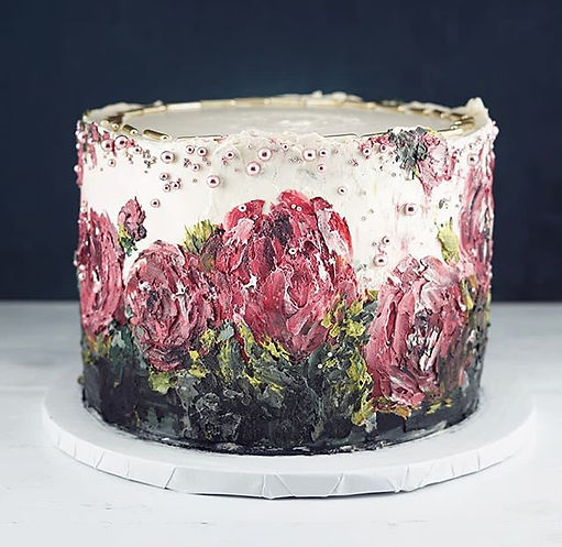 MasterPIECE of cake 🖤🌹🖤_._._._Inspire