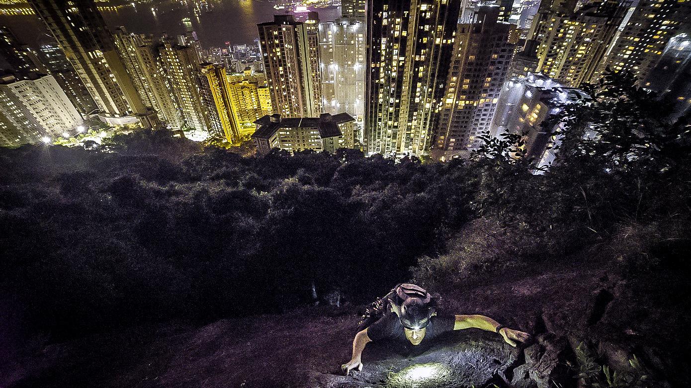 Night Climbing @ Central Crag