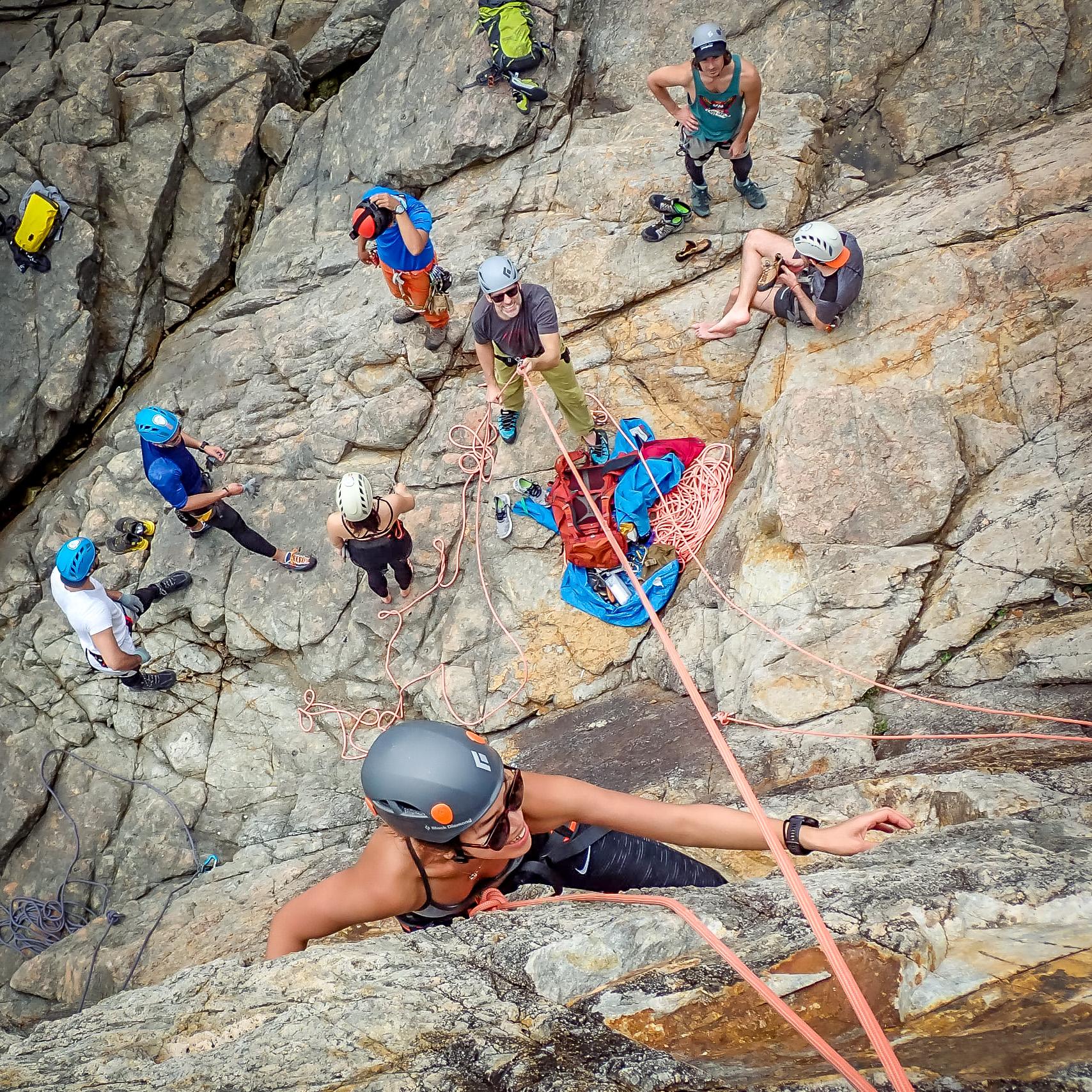 Rock Climbing @ Tung Lung