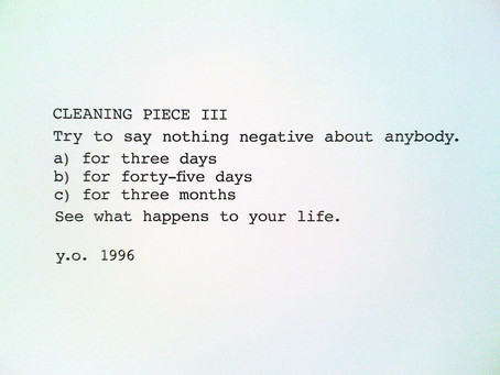 Intentions for the New Year
