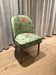 Green Botanical Bespoke Chair