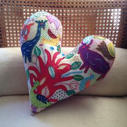 Heart Bespoke Cushion