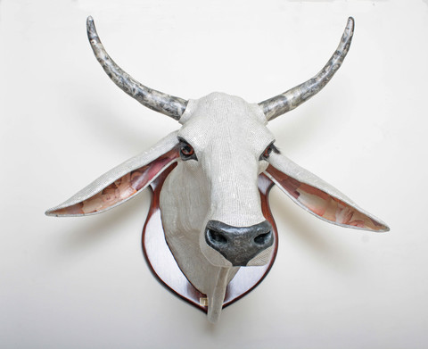 Papeier Maché Animal Heads