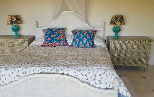Bone Inlay furniture, lamps and cushions