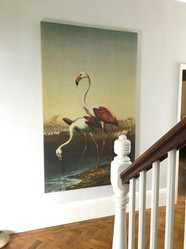 Flamingo Wall Hanging