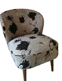Bespoke Lychee Fabric Chair