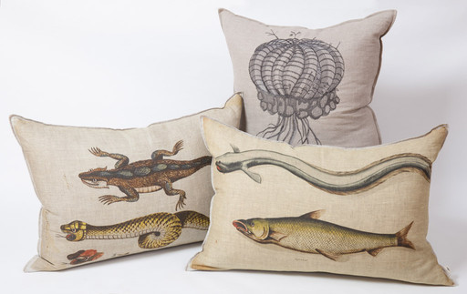 Bespoke Cushions Lizards and Snakes