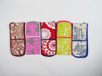 Colourful Oven Gloves