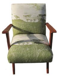 veld beapoke chair in green
