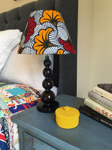 Bespoke Bedside Lamp Shade