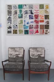 Veld fabric bespoke chairs